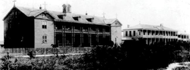 Portrait of a Legend: The Great Storm of 1900: St. Mary's Orphan Asylum