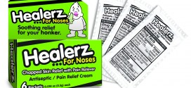 Healerz™ For Noses… Soothing Relief For Your Honker