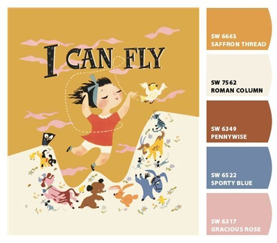 i can fly palette