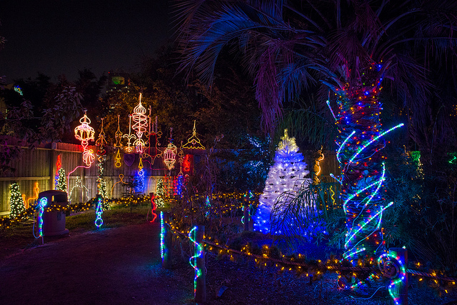Zoo Lights Is Back At The Houston Zoo With 2 Million Lights
