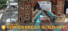 6th Annual Gingerbread Build-Off