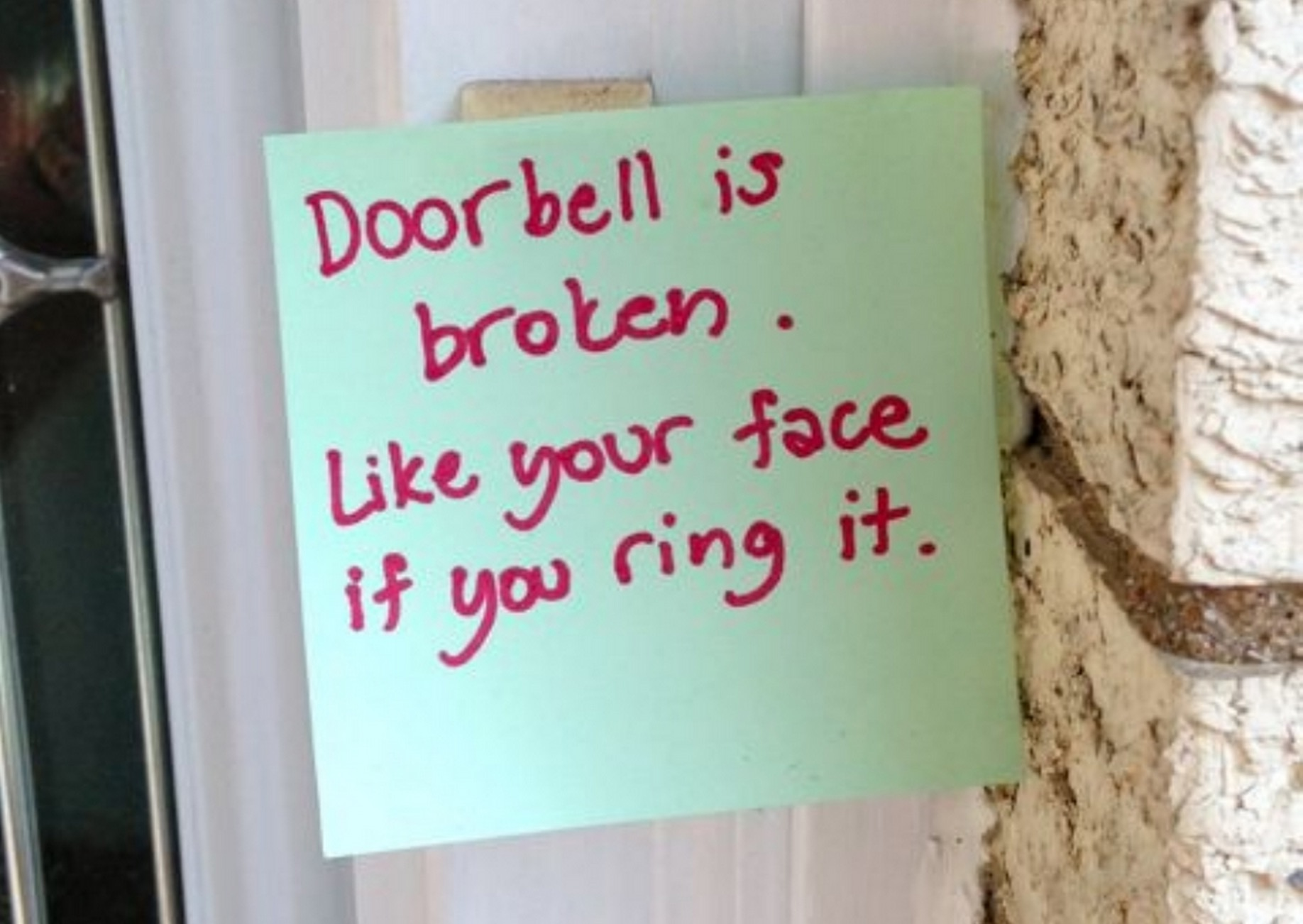 10 Funny Door Notes From Moms Who Do Not Want To Be Disturbed ...
