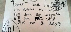 10 Adorable and Hilarious Letters To The Tooth Fairy