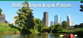 Daily giveaway: Buffalo Bayou Kayak Passes (March 4th)