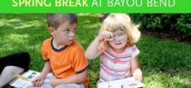 Celebrate Spring Break at Bayou Bend