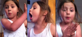 (VIDEO) Feisty Five Year Old Says She's Moving Out!
