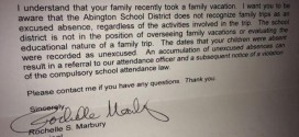Father Responds to Principal Who Refused to Excuse Absences For Family Vacation
