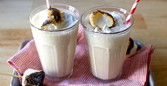 Toasted Marshmallow Milkshake | Houston Family Magazine