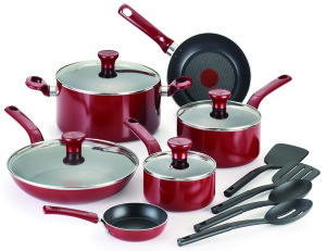 t-fal_14-piece_excite_non-stick_cookware_set_-_red