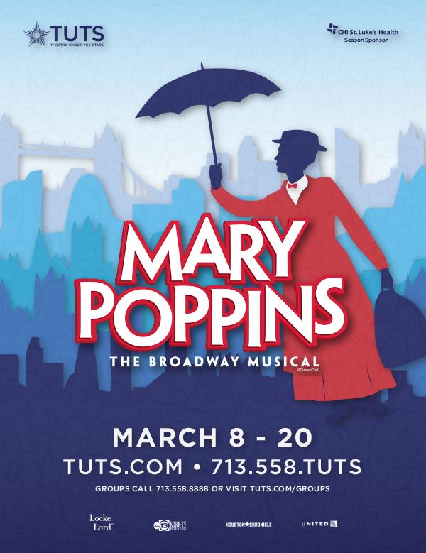 Mary Poppins Houstonia Ad