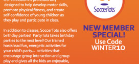 SoccerTots New Member Special!