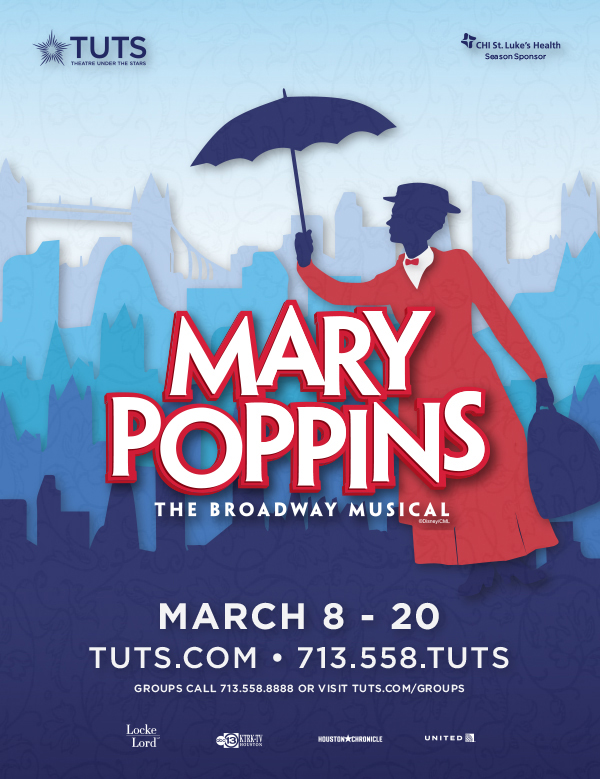 Mary Poppins Houstonia Ad