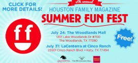 HFM's Summer Fun Fest Events July 24 (The Woodlands) & July 31 (Katy) – Become a Vendor Today!