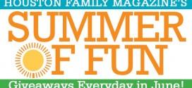 Summer of Fun Giveaways in June 2016!