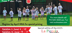 Now your child can experience Italy without leaving Houston