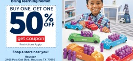 Lakeshore Learning – Built by Teachers, Loved by Kids! Buy 1 nonsale item and get 1 of equal/lesser value 50% off!