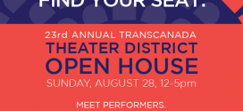 Free Family Fun at Theater District Open House on August 28