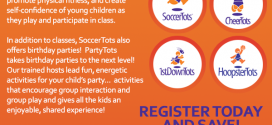 Register With SoccerTots Today and Save!
