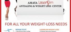 Why Wait to Lose Weight? Get Amaya LaserSlim